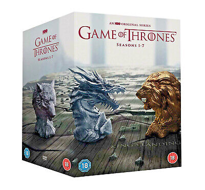Game Of Thrones Season 1-7 Brand New Sealed Box Set Region 2 Fast Free Delivery