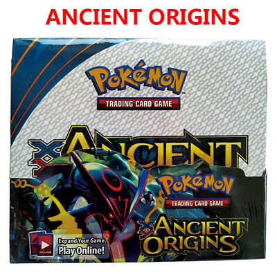 36 Packs Ancient Origins Booster Box Factory Sealed POKEMON Trading Card Booster