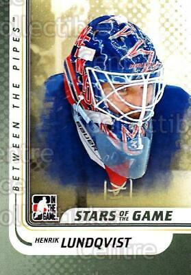 2010-11 Between The Pipes #105 Henrik Lundqvist