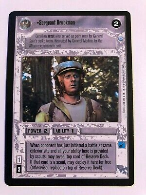 Star Wars CCG Endor Navy Trooper Fenson NrMInt-MINT SWCCG