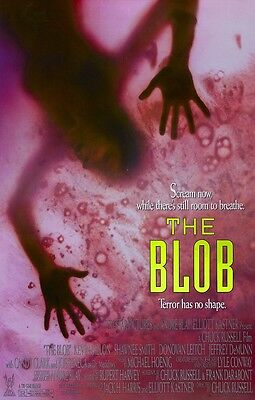 The Blob movie poster : 11 x 17 inches Kevin Dillon, The Blob Remake