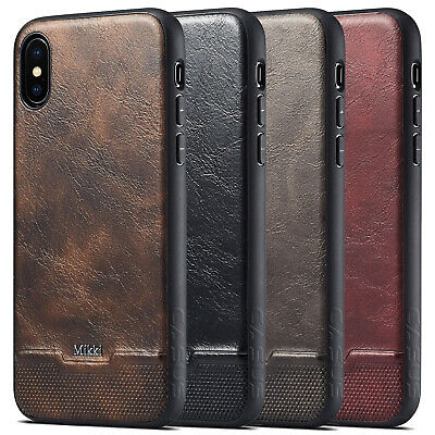 Slim Leather Ultra Thin TPU Shockproof Case Cover Fits For iPhone XR XS MAX X