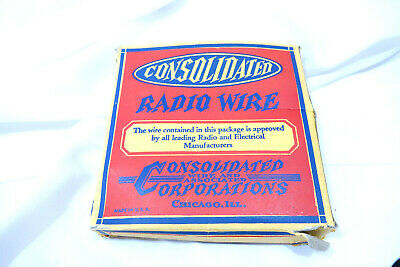 Antique / Vintage Consolidated Radio TV Wire - Lightning Arrester New Old Stock