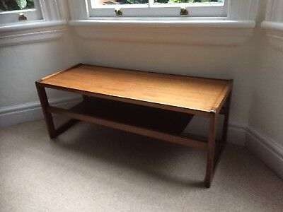 Vintage Retro Mid Century 1960/70s Danish Era Teak Coffee Table