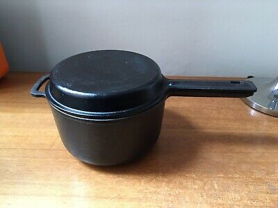 Robert Welch Cast Iron Cooking Pot With Lid 1.5 Ltr, Victor Castware.