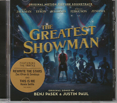 The Greatest Showman Cd - Original Motion Picture Soundtrack - New