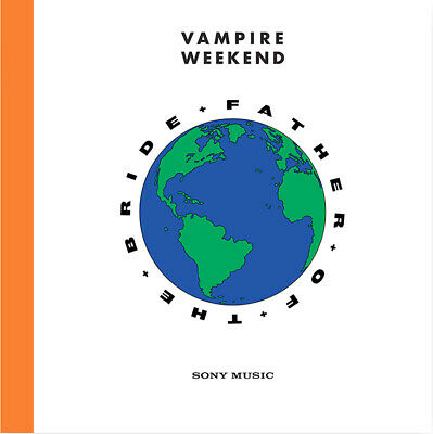 """Vampire Weekend """"Father Of The Bride"""" Dble Orange Vinyl LP Record (New & Sealed)"""