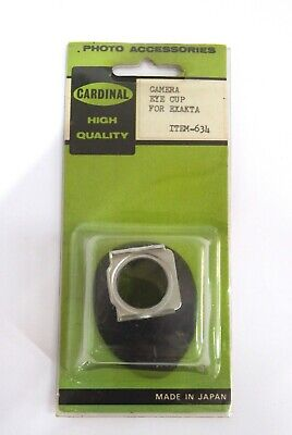 Camera Eye Cup For Exakta - High Quality - Visor De Goma Para Camara - Made In