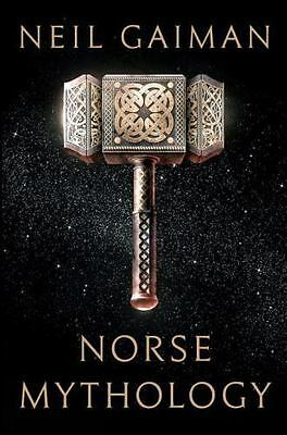 Norse Mythology by Neil Gaiman (2017, Hardcover) FIRST EDITION