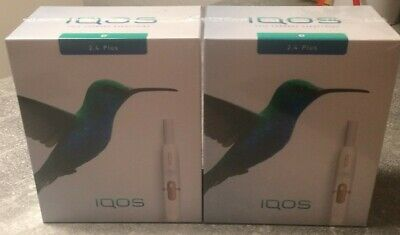 Iqos 2.4 plus NAVY/WHITE starter kit NICHT REGISTRIERT!