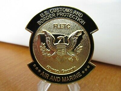 CBP FLETC FEDERAL Law Enforcement Training Center Challenge Coin #9693