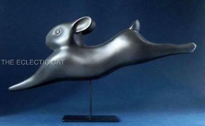 Running Rabbit Lapin Courant Sculpture Statue Francois Pompon French France Art