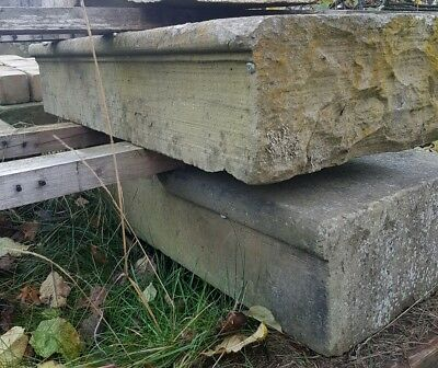 Original stone bullnose steps reclaimed from Yorkshire castle