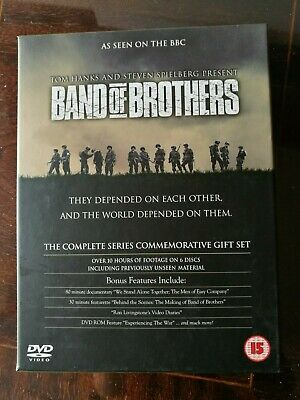 Band of Brothers Complete HBO Series 6 Disc DVD Gift Set Box Set