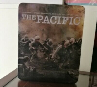The Pacific / 6 Dvd Box Set / Metal Tin / Excellent Condition