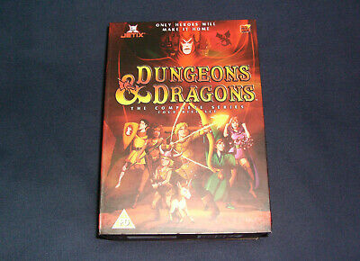 Dungeons & Dragons - Complete - Volumes 1-4 (DVD, 2004, Animated, Box Set)