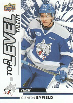 2018-19 Upper Deck CHL Hockey Top Level Talent #TL-15 Quinton Byfield