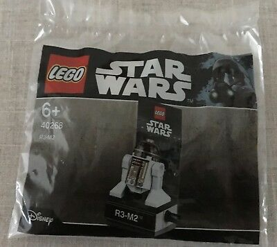 LEGO R3-M2 Polybag 40268 Star Wars New in Sealed Bag