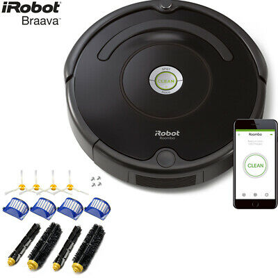 iRobot Roomba 675 Robot Vacuum with Wi-Fi Connectivity with Replenishment Kit