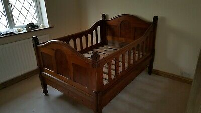 Antique pine first Bed/cot