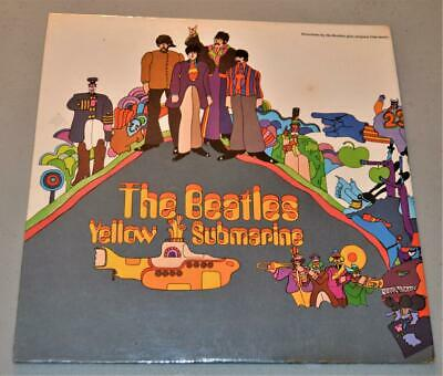 THE BEATLES Yellow Submarine  LP FACTORY SEALED US 1969 Pressing SW-153 LP
