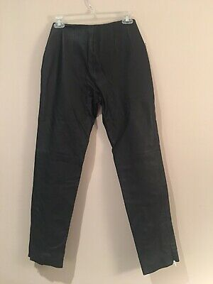 """Metrostyle Size 4 Leather Pants Inseam 29"""". New With Tags. Waist 29"""", Hips 34"""""""
