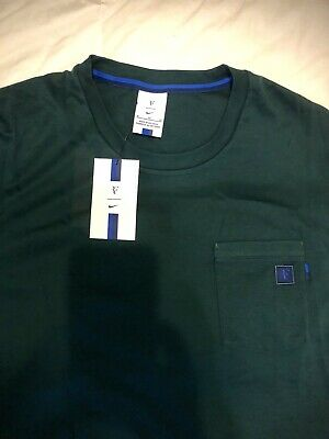 Nike Court Rf Roger Federer Essential Tennis Top Shirt Ah6764 684 Size Xxl Clothing, Shoes & Accessories