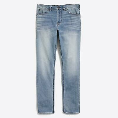 7bde23e5 New J.Crew Men's Straight Fit Distressed Flex Jeans Avail. Sizes 34x30 or  34x32