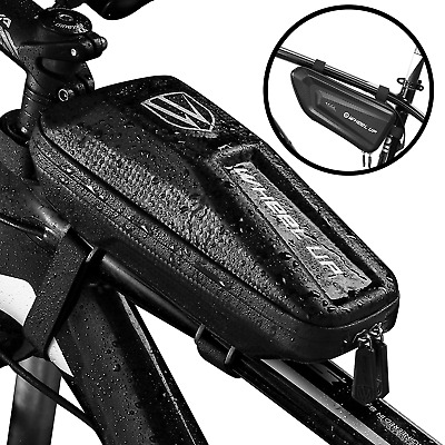 Waterproof Cycling Bag MTB Bike Bicycle Front Top Tube Frame Pouch Bag 1.0-1.6L