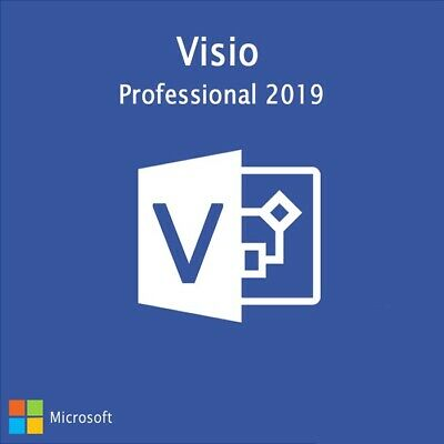 Ms Visio 2019 Professional Code Activation + Download Link 1 PC Instant delivery