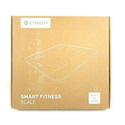 Etekcity Smart Bluetooth Body Fat Scale - Digital Bathroom Weight Scale with APP