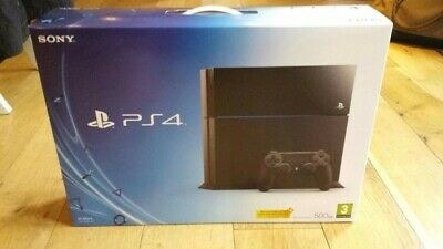 Sony PlayStation 4 - Original Launch Edition 500GB Jet Black Console