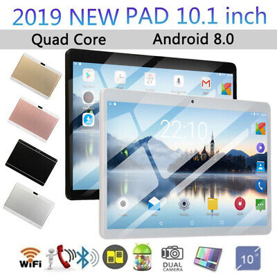 10.1'' Inch Google Gaming Tablet PC Android 8.0 Quad Core Dual Camera Wifi