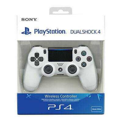Sony PlayStation DUALSHOCK4 Wireless PS4 Controller - Glacier White