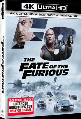 The Fate of the Furious (DVD,2017)