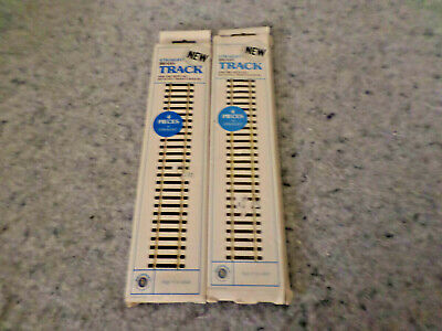 2 BACHMANN HO GAUGE 4 PIECES, 9' Straight TRACK NEW IN PACKAGE NO 1511 (C11B6)