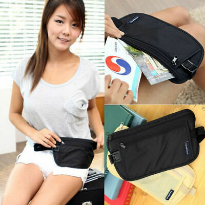 Travel Pouch Hidden Wallet Security Waist Passport Money Card Ticket Belt Bag ry