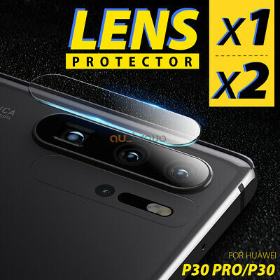 1x 2x Huawei P30 P30 Pro Back Camera Lens Tempered Glass Screen Protector Guard
