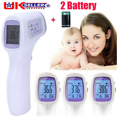 Baby Adult Body Care Non-Contact Digital Thermometer Forehead Infrared Medical