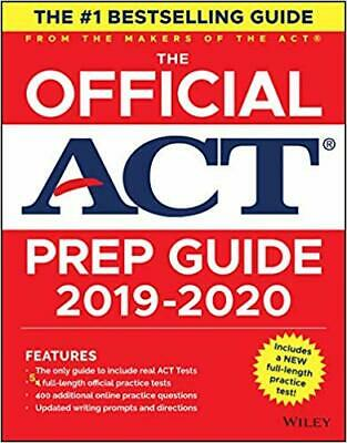 The Official ACT Prep Guide 2019-2020, (Book + 5 Practice Tests + Bonus Onlin...