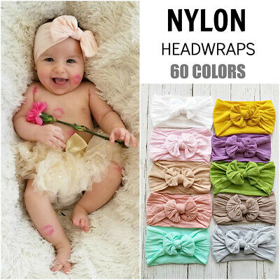 Baby Bow Headband Girl Hair Band Toddler Bunny Headwrap Princess Accessories Hot