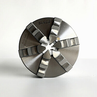 lathe chuck 125mm 5'' inch K13-125 six jaw chuck with hardened steel for sale