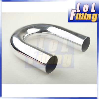 "UK 2.25/"" 15 Degree Aluminum Turbo Intercooler Pipe Piping Tube Tubing L=610mm"
