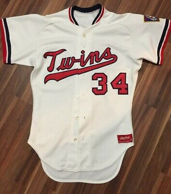 7e59086be20 VINTAGE AUTHENTIC RAWLINGS Minnesota Twins Kirby Puckett Rookie ...