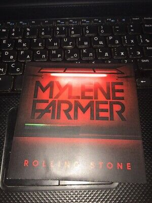 mylene farmer-rolling stone not for sale russia(lot,coffret,promo)dernier ex