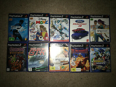 Sony Playstation 2 PS2 10 Assorted Games *SELECT YOUR GAME*