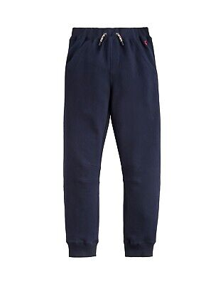 Joules AW18 Junior Sid Jogging Bottoms in French Navy, sizes 3yrs & 9-10yrs