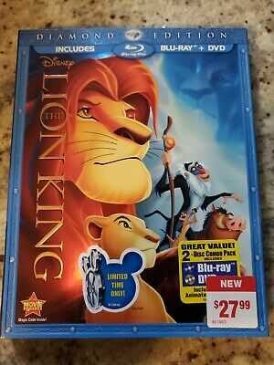 Walt Disney The Lion King Diamond Edition DVD