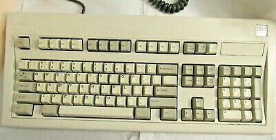 1bedf8128df VINTAGE SILVER LABEL IBM Model M MECHANICAL KEYBOARD 1390120 NOVEMBER 1986