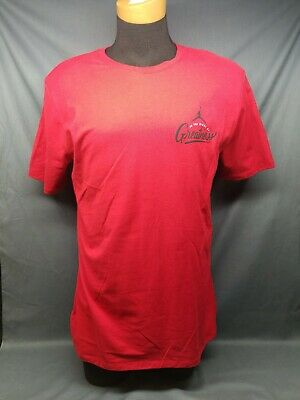 472f5308bef94d Nike Men s Jordan In The Midst of Greatness T-Shirt SS Crew Neck Red Size